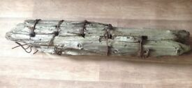 Driftwood large interesting sculpture like piece for garden deco,sculpture diy