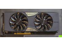 EVGA GeForce GTX 980 Ti SC+ 6GB (with backplate) GDDR5 384bit High end GPU (MINT condition) 980TI
