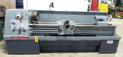 17 X 80 Clausing Colchester Engine Lathe 3 Hole Taper 10 Hp 30665