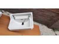 Antique/vintage bathroom sink and taps