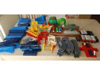 Tomy train track, with trains, HUGE set