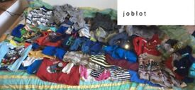 Joblot of kids shirts , jumpers, trousers, underpants size 3-4 years