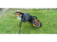 DUNLOP MX2 Junior Graphite Golf Set. Cash only £60