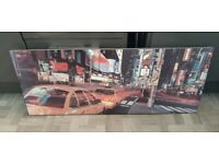 New York Times Square Canvas Picture.