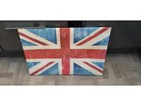 Chabby Chic Union Jack Picture