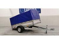 Car trailer 750 kg tilting bed