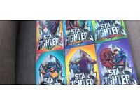 Set of 6 books Starfighter