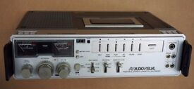 Vintage Philips Audio Visual Stereo Portable Cassette Recorder D 6920 in good working condition.