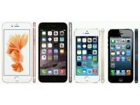 WANTED GET CASH IPHONES ' 5'5C'5S'6'6S ANY CONIDTION CASH PAID