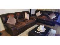 2 x 3 Seater sofas FREE
