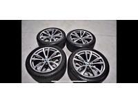 """Genuine 20"""" BMW F15 X5 Alloys & Tyres"""