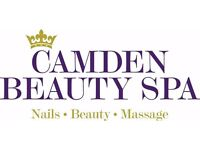 SELF-EMPLOYED BEAUTICIAN AND SELF-EMPLOYED LASER TECH REQUIRED FOR BEAUTY SPA IN CAMDEN