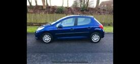 Peugeot 207 Urban 1.4, ( 2007 ) Just 72000 Miles; 10 Months MOT, Very Clean In & Out