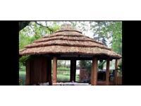 Thatch tiles re thatch service summer house breeze crown beach hut Julian Christian