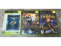 Xbox lord of the rings games. Original Xbox