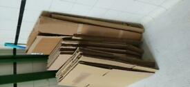Cardboard Removal Boxes Small Medium Large