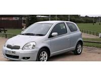 TOYOTA YARIS 2005 12 MONTH MOT OWNER FROM NEW IDEAL FIRST CAR