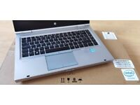 """WARRANTY fast profi 14"""" laptop HP Elitebook core i5 8GB RAM 512GB SSD Windows 10 MS Office"""