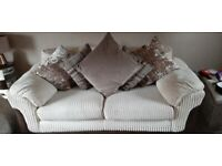 3 seater & 2 seater and storage puffy
