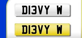 Private Registration for Sale! D13VY W!!!