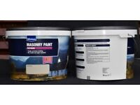 TEXTURED MASONRY PAINT in 10Lit TUBS