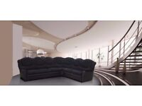 7 SEATER CHENILLE FABRIC CORNER SOFA'S, AVAILABLE IN LEATHER ALSO**3+2 SETS**CHAIRS**STOOLS
