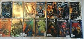 Ultimate Fantastic Four comics by Marvel, issues 24-36 and an annual, several complete stories