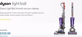 Dyson DC40 Animal Upright Vacuum Cleaner including 5 year warranty only 3 months old