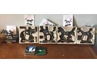 Bronze horses new in box with certificates