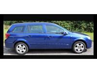 CHEAP DIESEL VAUXHALL ASTRA ESTATE 5 door family car 1.3L (2007) year mot tow bar cheap tax