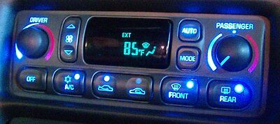 C5 Corvette Climate Control Hvac Led Upgrade Repair Service 97 04 A C