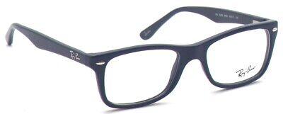 Ray-Ban Herren Damen Brillenfassung RX5228 5583 50mm blau matt Vollrand RX1