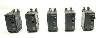 5 Square D Qob230 Bolt On Mini Circuit Breakers 30a 2p 120240vac48vdc 22ka