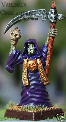 Vampire Counts Wraith Purple Robes with Skull OOP ](Vampire Robes)