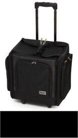 Wheelable craft tote case