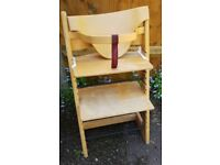 Stokke Trip Trap High Chair with Baby Rail