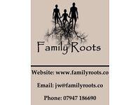 Family Roots - Genealogy/Family Tree Services