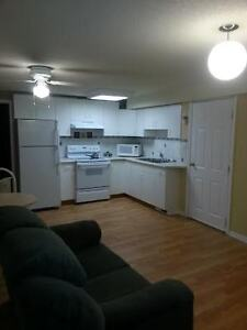 1 bd. basement suite, stove,fridge,microwave, share washer and