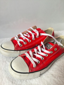 Red Converse Chuck Taylor All Stars - 5.5/6 - $30 OBO
