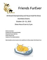 ACFA Championship and Household Pet Cat Show