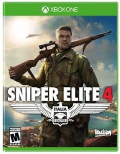I want to buy Sniper Elite 4 for Xbox One