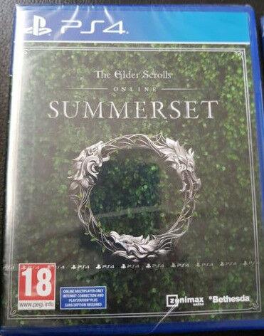 The Elder Scrolls Online: Summerset PS4 - Brand New