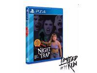 Night Trap PS4 RARE