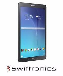 "Brand New Samsung Galaxy Tab E 9.6"" Tablet with 1.2GHz Quad-Core Processor &16GB of Storage - Black - SM-T560NZKUXAC"