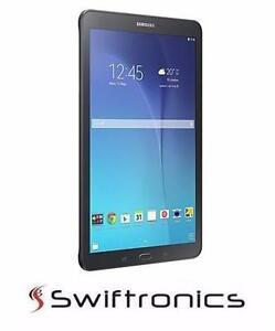 "Brand New Samsung Galaxy Tab E 9.6"" Tablet with 1.2GHz Quad-Core Processor &16GB of Storage - Black - SM-T560NZKUXAC"