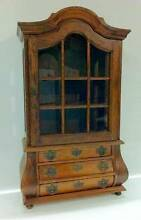 French Style Fine China & Jewellery Wooden Display Cabinet Manly Manly Area Preview