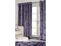 NEXT Beautiful Quality Crushed Velvet Curtains
