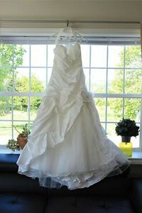 Unique Italian designer wedding dress