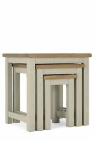 Set Of 3 Kendall Painted Nest Of Tables NEXT