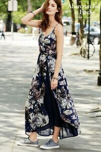 ABERCROMBIE & FITCH FLORAL MAXI DRESS-NEW!